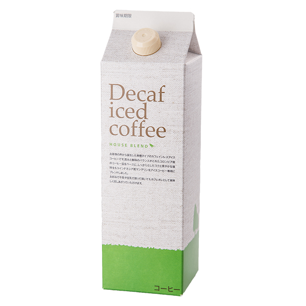 デカフェアイスコーヒー