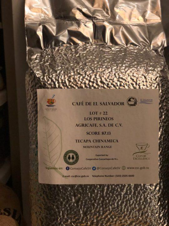 エルサルバドル COE コーヒー生豆