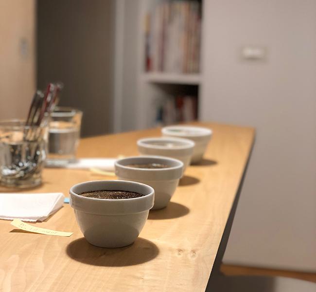 カッピング スペシャルティコーヒー