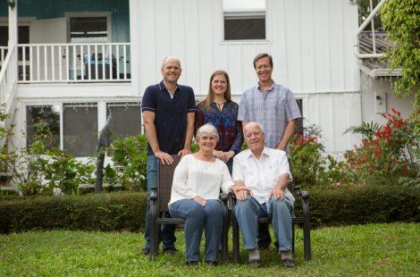 エスメラルダ農園 プライス ピーターソン家族