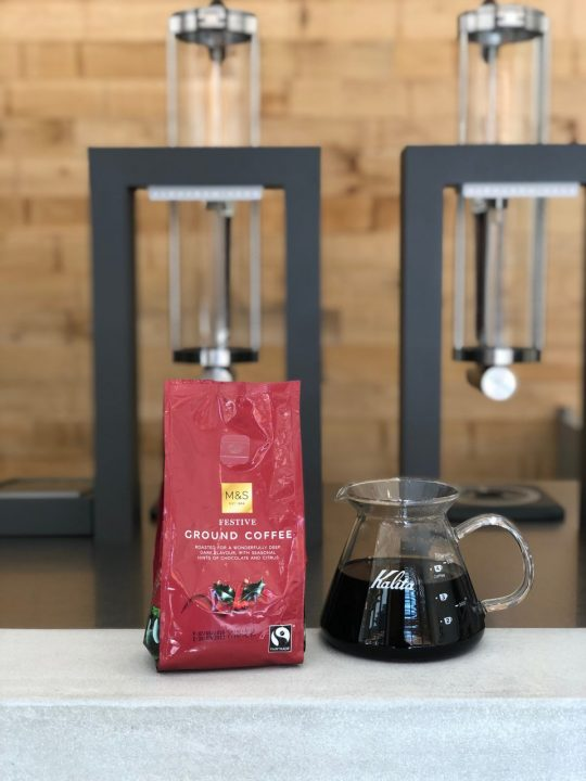 M&S coffee