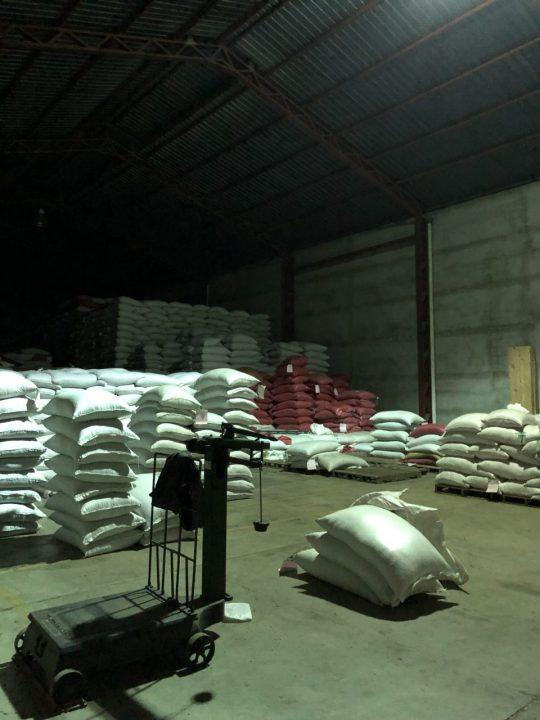 パーチメントコーヒー 倉庫