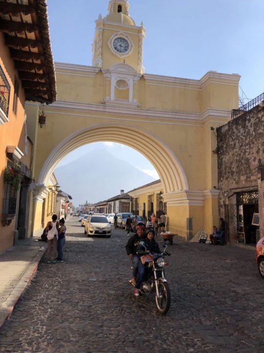 アンティグア市街地