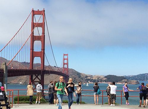 サンフランシスコ ゴールデンゲーツブリッジ
