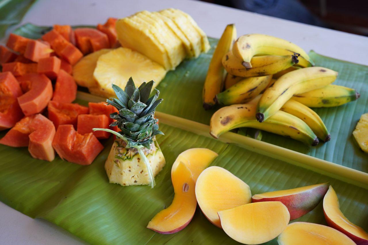 コスタリカのフルーツ