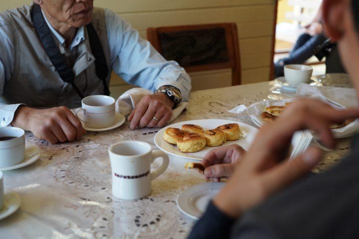 ラリアでコーヒーブレイク