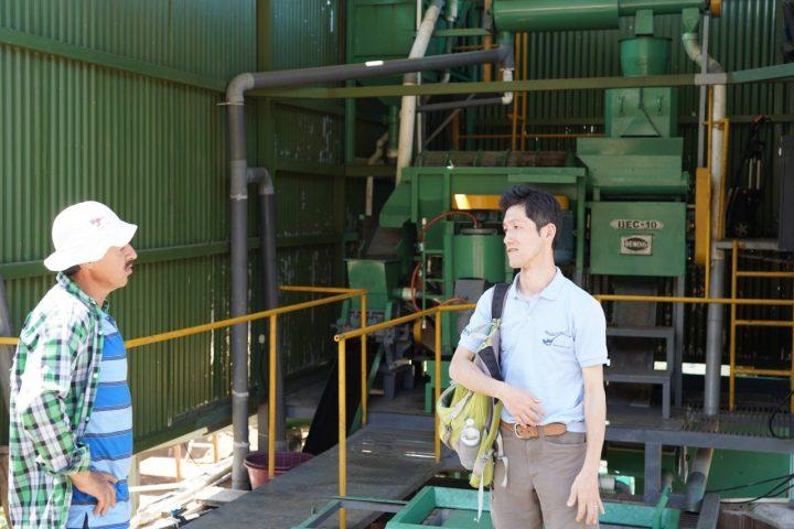 精製処理工場