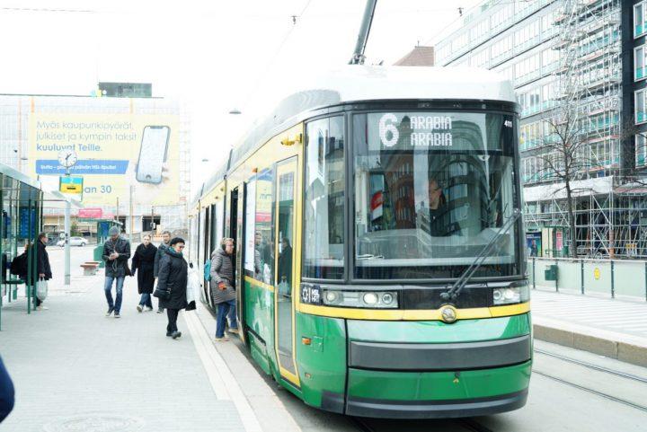 ヘルシンキ トラム
