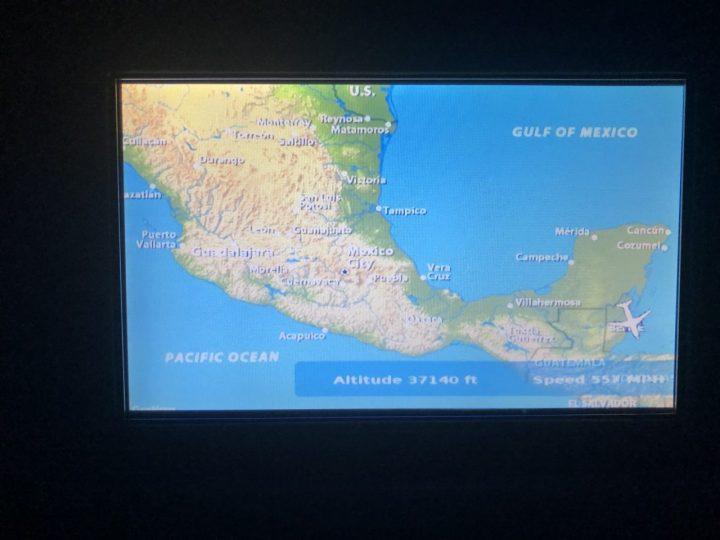 飛行機内 モニター