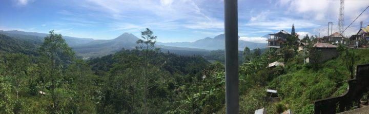 インドネシア バリ バトゥール山