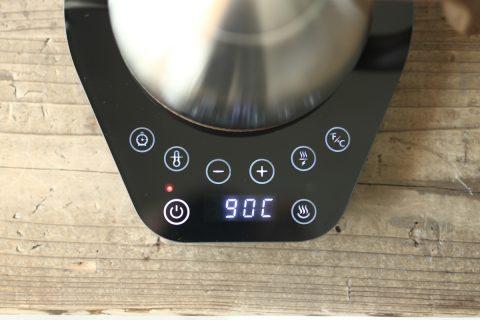 Brewista お湯の温度